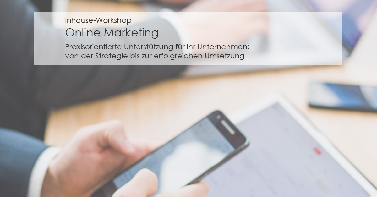 Inhouse-Workshop Online Marketing